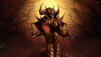 Demon Scary Wallpapers Screaming Krampus Creepy Horror