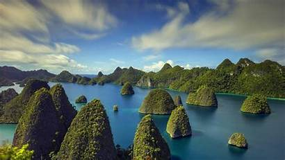 Islands Indonesia Nature Tropical Sea Wallpapers Landscape