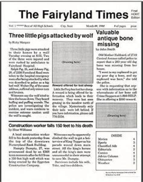 Newspaper report example ks2 tes. Example of newspaper report ks2 - pdfeports220.web.fc2.com
