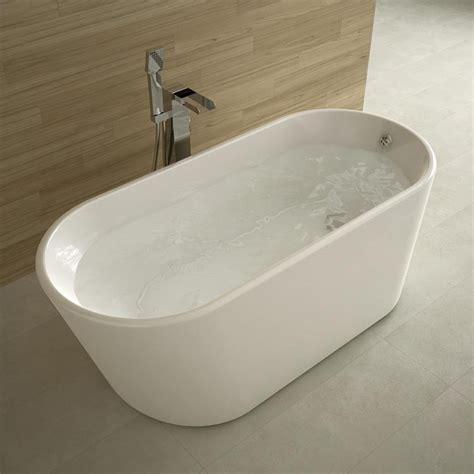 baignoire ilot ovale 162x72 cm petite dimension