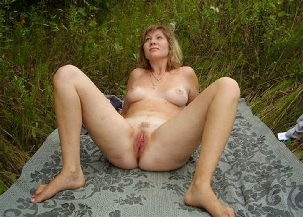 #Mature #Woman #Spreading #Her #Legs #And