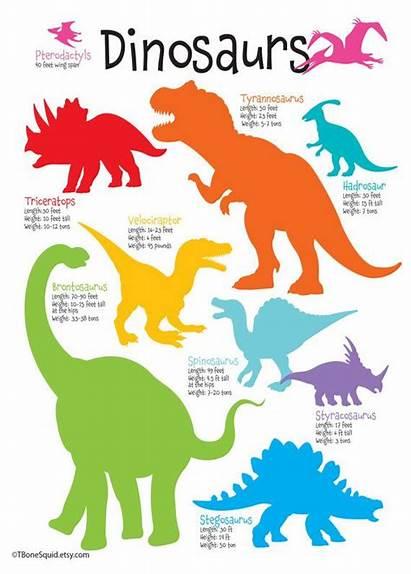 Dinosaur Dinosaurs Boys Names Poster Nursery Bedroom