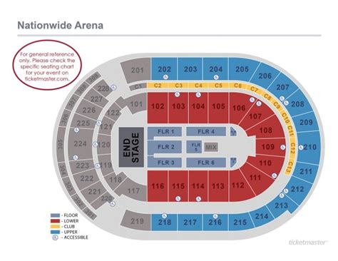 round table sports arena nationwide arena seating chart with rows brokeasshome com