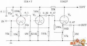 Mcintosh C22 Electron Tube Preamp Circuit Diagram - Audio Circuit - Circuit Diagram