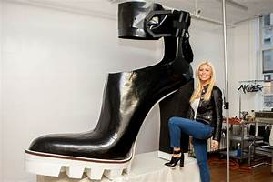 Kenneth Cole just made the largest high heels in the world ...