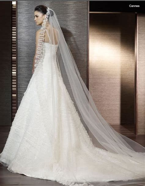 Elegant Long Wedding Veil On Eweddinginspiration