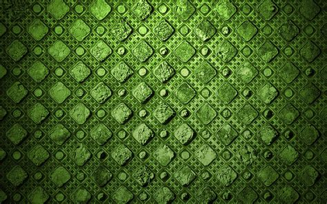 green Abstract Textures Diamonds Wallpapers HD