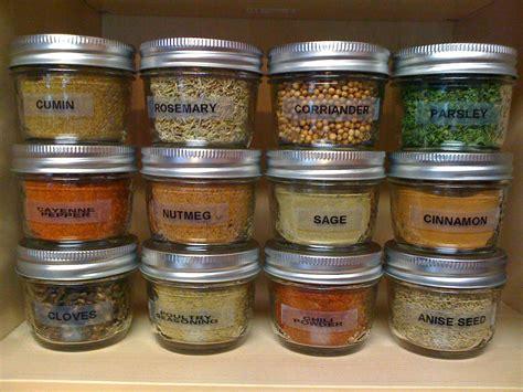 Spice Jars by Bits Bites Spice Jars