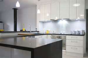 Kitchens With Black Bench Tops by Gallery 2 Kitchens Squared