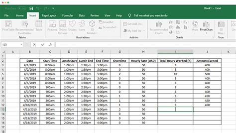 track time   spreadsheet clockify