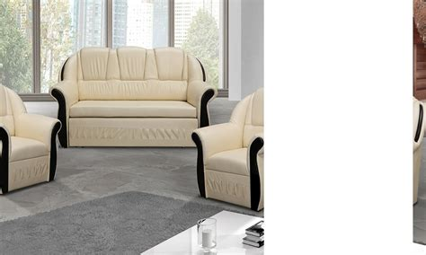 ensemble canapé et fauteuil ensemble canapé et fauteuils beige anector