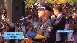 Ukraine New Police Force: Young law-enforcement officers ...