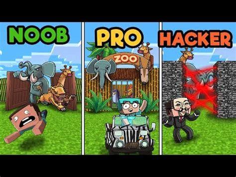 minecraft zoo tycoon noob  pro  hacker