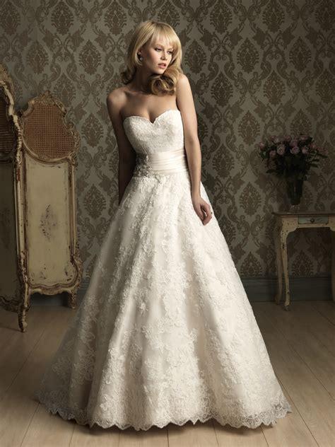 heart wedding dress allure bridal ballgown