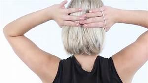 Coiffure Carre Plongeant : tuto coiffure carre plongeant youtube ~ Nature-et-papiers.com Idées de Décoration