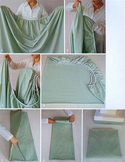 folding a fitted sheet tutorials