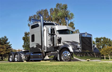custom kenworth for sale custom kenworth w900l the truck s exterior features many