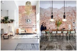 Mur En Brique Intérieur : un mur en brique pour donner un style industriel votre d co int rieur ~ Melissatoandfro.com Idées de Décoration