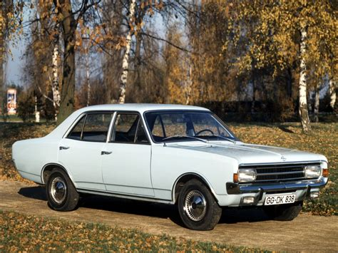 Opel Rekord C Coupe 1971