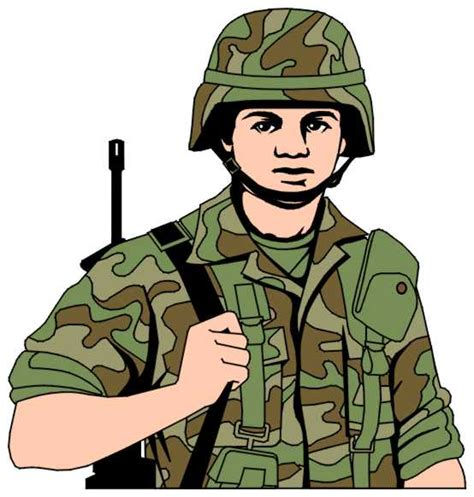 military clip art gallery