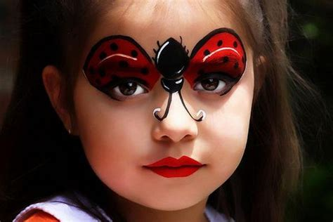 Ladybug Face Paint, Cool Face Painting Ideas For Kids
