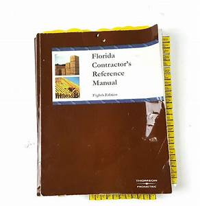 Florida Contractors Reference Manual 2006 Edition