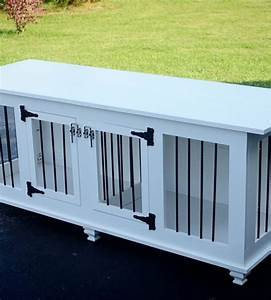 divider interesting double dog crate double doggie den With white dog crate furniture