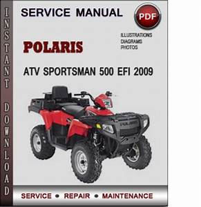Polaris Atv Sportsman 500 Efi 2009 Factory Service Repair Manual Download Pdf