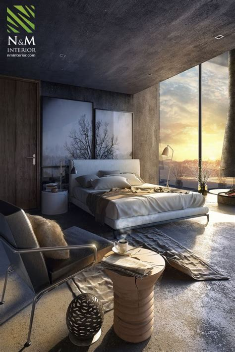 amenagement chambre adulte best 25 concrete bedroom ideas on industrial