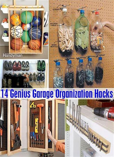 decoart blog diy  genius garage organization hacks