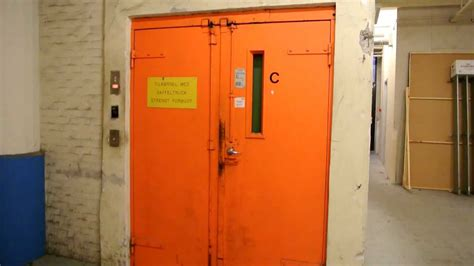 Vintage Freight Elevator With Inner Doors @ Carlsberg