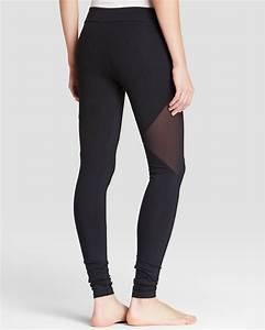 Mesh Cutout Leggings - Trendy Clothes
