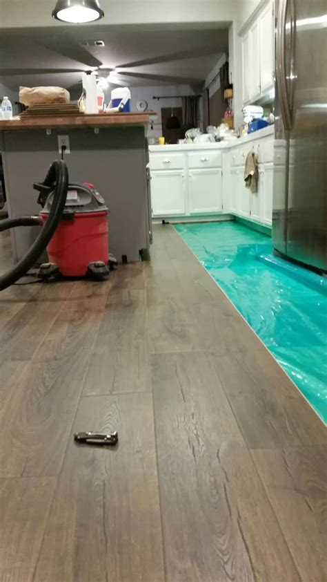 Installing Pergo Flooring  Domestically Speaking