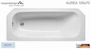 Badewanne In Wanne : mauersberger badewanne aurea 160 x 70 cm acryl kompakt ~ Lizthompson.info Haus und Dekorationen