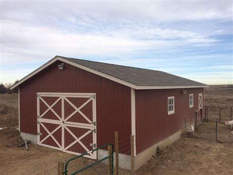 24×36 Barn Backyard Garage Shed Icreatables