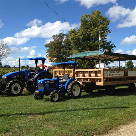 01578 Mercier Orchards Coupon by Fall Vineyard Tours Saugatuck