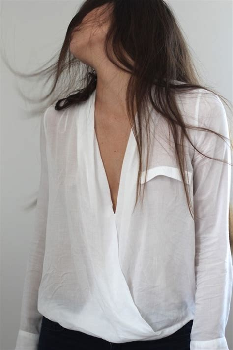 sheer white blouse blouse white shirt shows a white sheer
