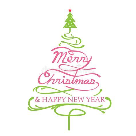 feliz navidad forma del 225 rbol de navidad ilustraci 243 n del