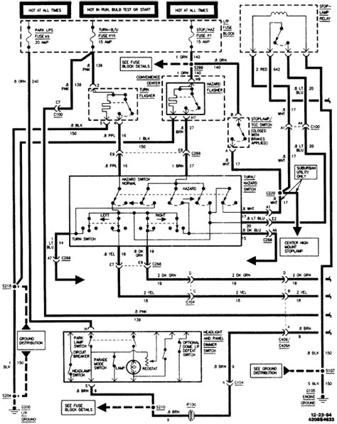 1995 Chevrolet K1500 Wiring Diagram by 1995 Chevy Silverado 1500 Driving At With Trailer
