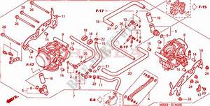 Carburetor  Assy   For Honda Vtr 1000 Fire Storm 2004