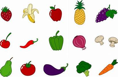 Fruits Clipart Vegetables Clip Veggies Fruit Sweetclipart