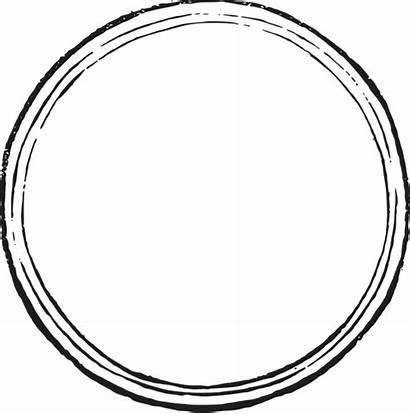 Sello Dibujo Circulo Blanco Para Negro Etiquetas