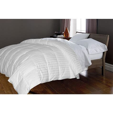 goose feather comforter blue ridge white goose and feather 50 and 50