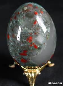 African Bloodstone Egg Crystal