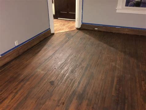 staining  hardwood floor arnes floor sanding
