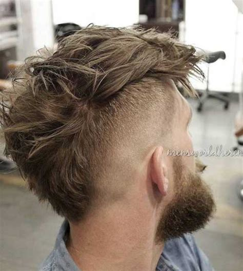 stylish mohawk hairstyles for mens hairstyles 2018