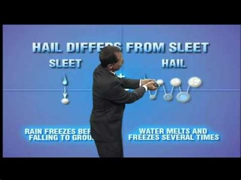 what s the difference between like and what is the difference between sleet and hail