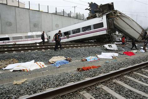 Train Derailment And Crash In Spain Near Santiago De