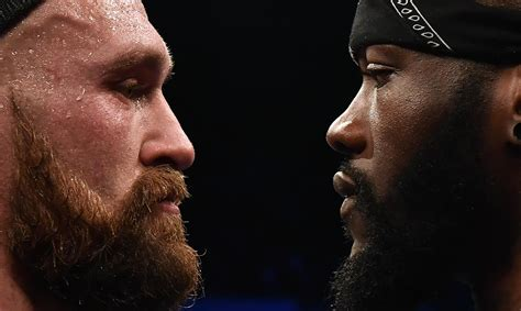 tyson fury  deontay wilder  meet  staples center