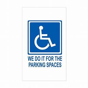 handicapped parking rectangle decal by handicappark With kitchen colors with white cabinets with handicap sticker for car